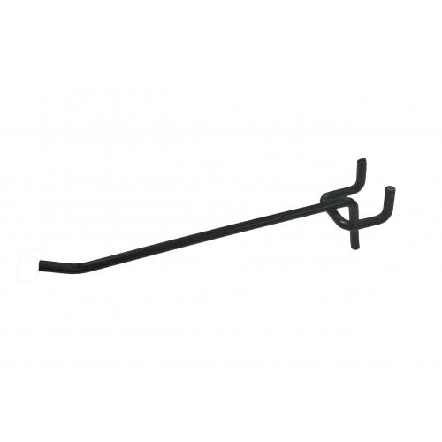Case of 100 New Slatwall Zinc Finish Scanner Hook Measures 10