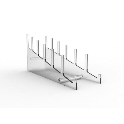 Large Multiple Plate Acrylic Rack Display Holder Stand