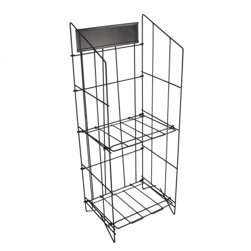 Newspaper Magazine Metal Wire Rack Display Stand