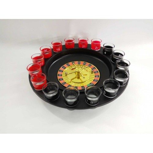 Black 119553 FixtureDisplays 18 Write-on Prize Wheel 14 Slots Countertop Luckydraw Spinner