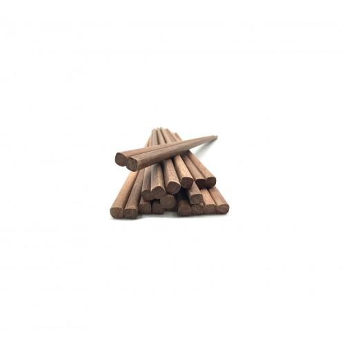 6-Pi Wood Multi-Colour Creative Tops Retro Spot Premium Cork-Backed Placemats