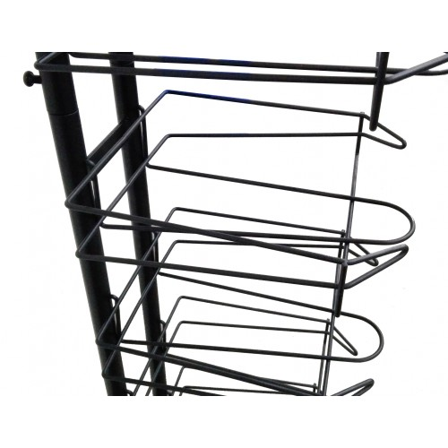 e7999312e06 ... FixtureDisplays 12-Tier Caps Display Rack Baseball Hat Headwear Rack  Floor Standing Display Tower 18165 ...