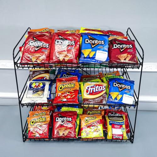 Snack Wire Countertop Display Rack