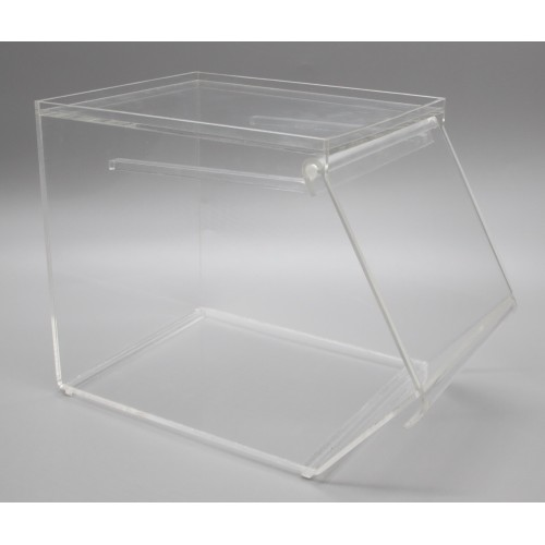 fixture lucite clear acrylic nesting candy bulk bin container box display