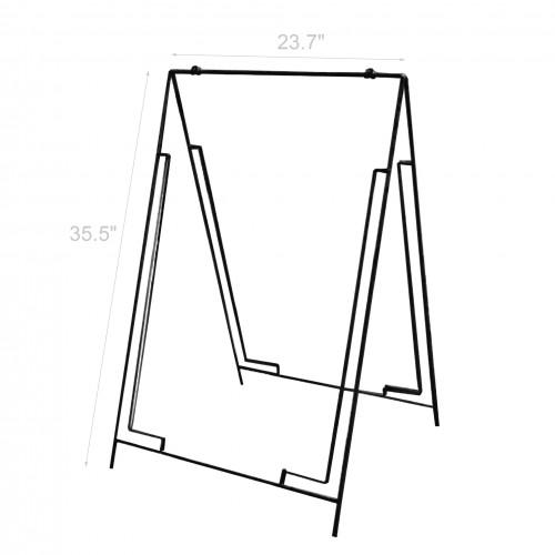 wire a frame menu sign a board grass spike with coroplast sheet rh fixturedisplays com 1955 Chevy Wiring Diagram Traffic Light Wiring Diagram
