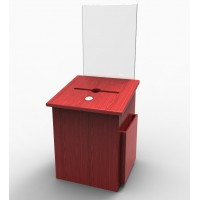 Fixture Displays® Box, Comment Collection Suggestion Donation Ballot w/ Sign Holder 7