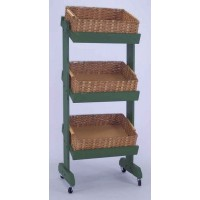 3 Tier Basket Display - Color Choices 101190