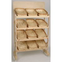 Bakers Baskets Display Rack - Color Choices 101192