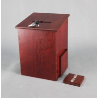 Fixture Displays® Donation Box, Tithing Box, Church Offering Box, Suggestion Feedback Ballot Box 9
