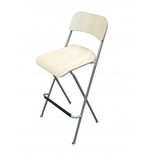 Chair Folding Bistro Bar Stool Wood Metal Two Pack 11036 : 11036201 500x500 from www.fixturedisplays.com size 500 x 500 jpeg 18kB