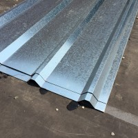 Fixture Displays® Corrugated Metal Roof Sheets Galvanized Metal 11525