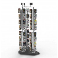 Fixture Displays® Greeting Card Postcard Rack Display High Capacity 11876