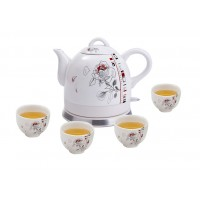 Fixture Displays® Teapot, Ceramic, w/electronic heat plate 12025