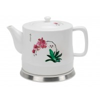 Fixture Displays® Teapot, Ceramic  w/electronic Steeping/Warm Station 12030