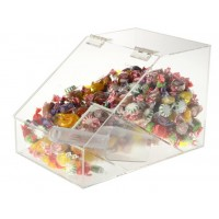 Fixture Displays® 1.5 Gallon Acrylic Candy Bin w/ Scoop Holder 19492