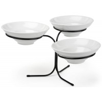 Fixture Displays® 3-Tier Wire Serving Platter w/ (3) 10