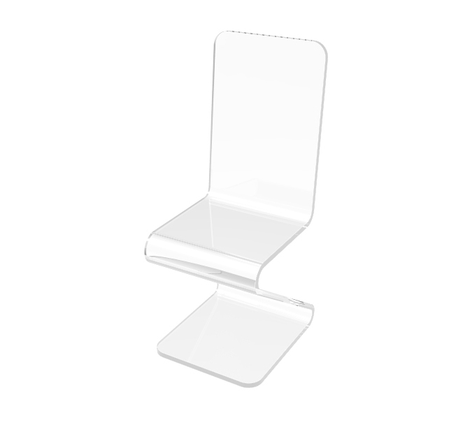 clear acrylic chair lucite plexiglass chair ghost chair tradeshow