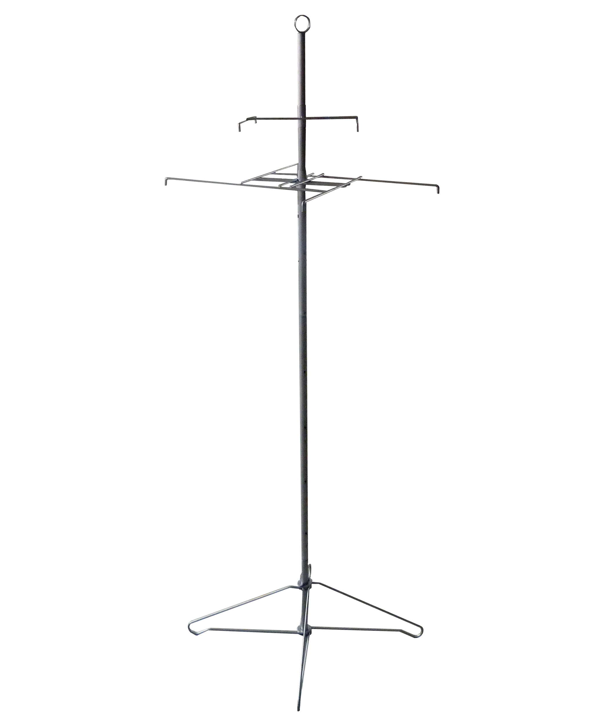 Metal Wire Spinner Rack 8 PRONGS Hooks Cloth Rotary Merchandise ...