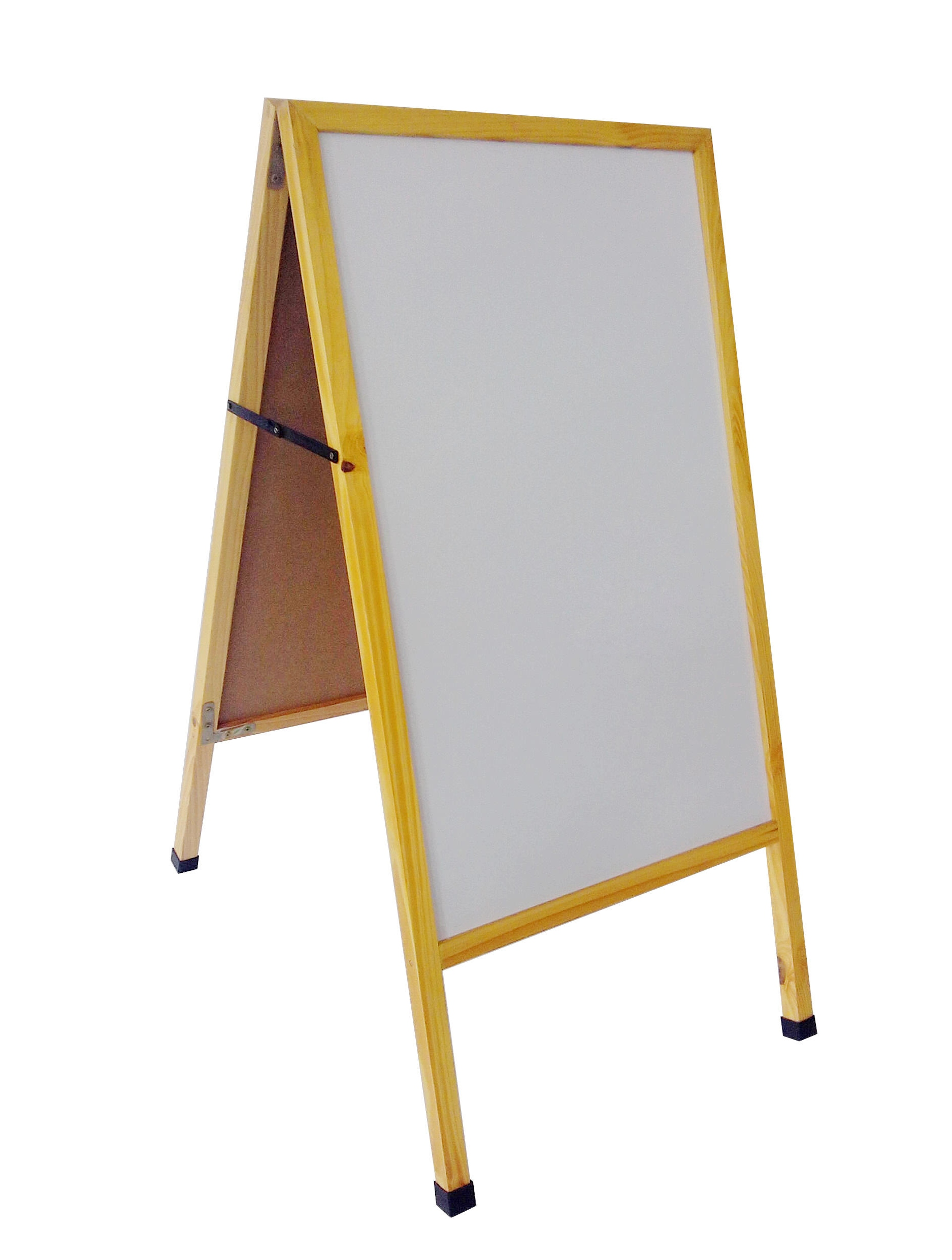 A Frame Sidewalk Sign Menu Board White Dry Erase Board