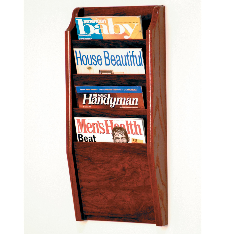 product pocket hayneedle mount rack cfm wall brochure magazine master