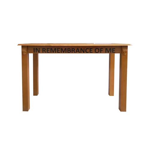 solid wood desk table breakfast office table optional communion