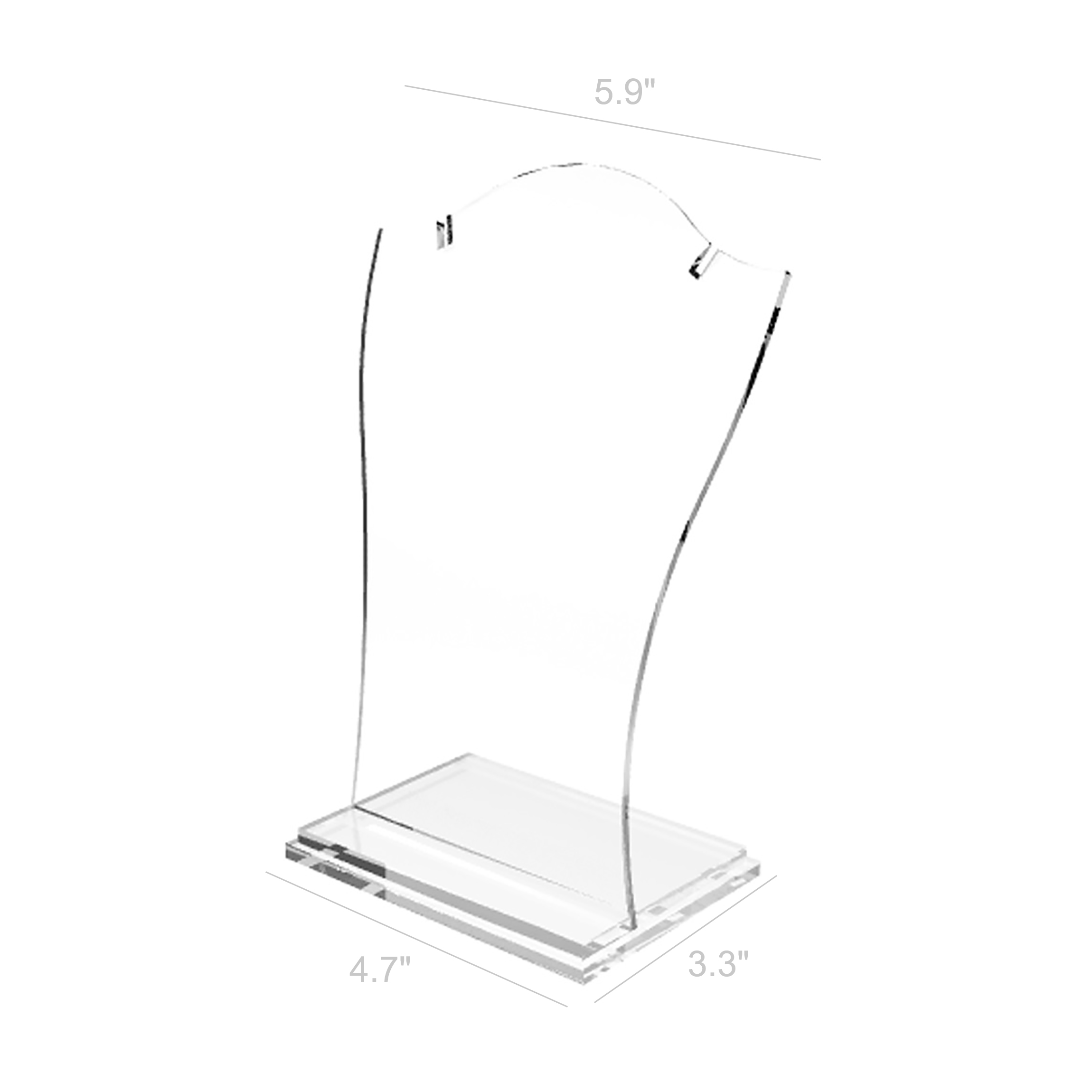 Acrylic Stand Designs : Clear acrylic jewelry stands style guru fashion glitz