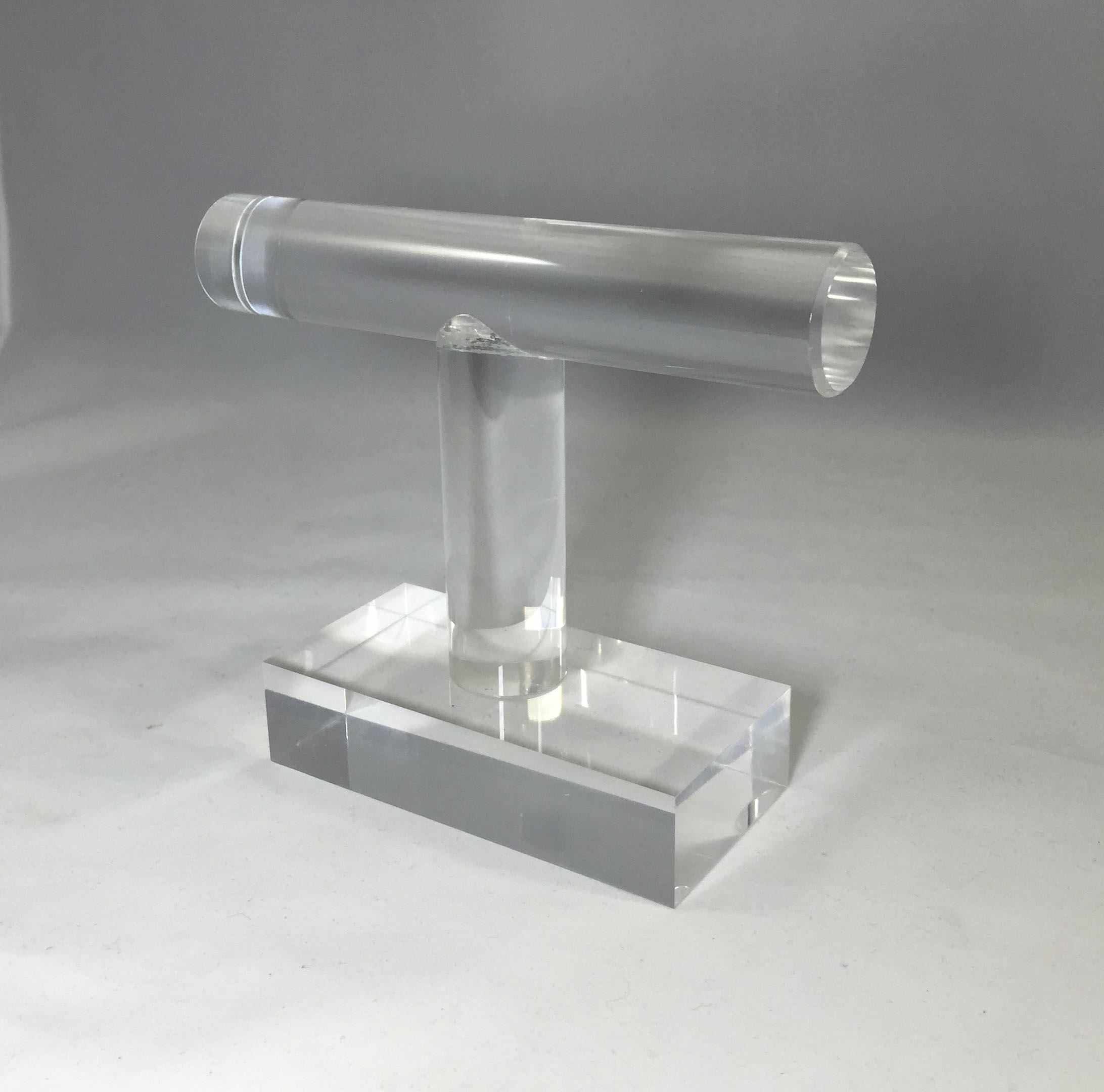 Clear Acrylic Plexiglass Bracelet Watch Stand Countertop Display ...