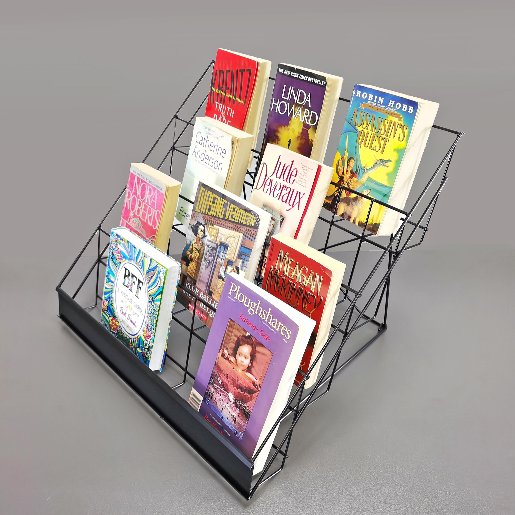 Wire Rack Brochure Rack Tabletop Literature Display Open