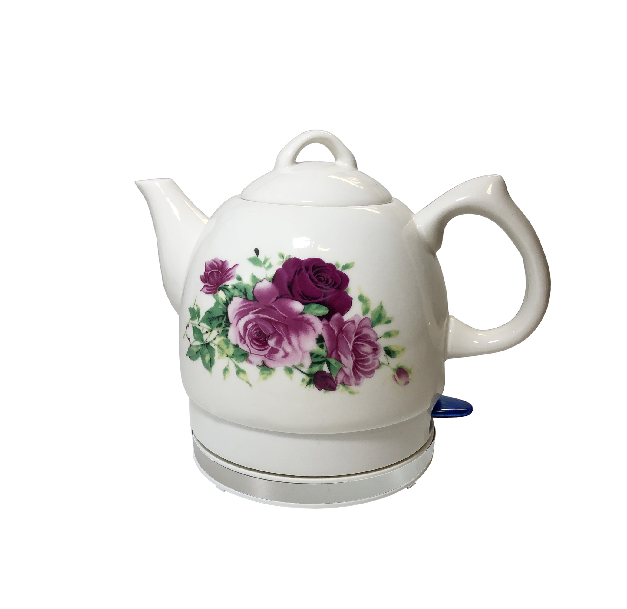 Electirc Ceramic Kettle Electric Ceramic Teapot Rose Ceramic