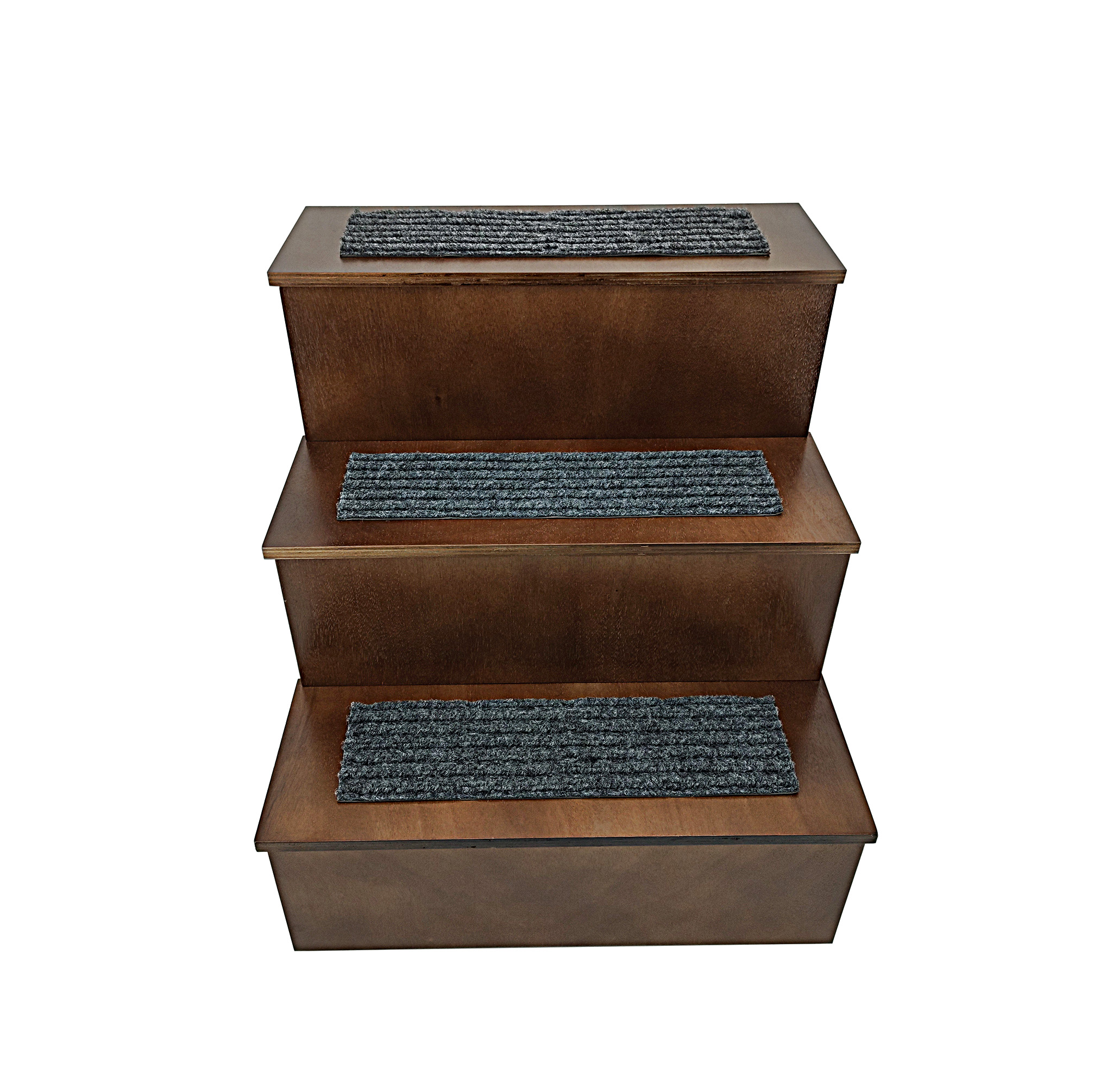 Deluxe Wood Pet Stairs Pet Dog Cat 3 Steps Stairs To