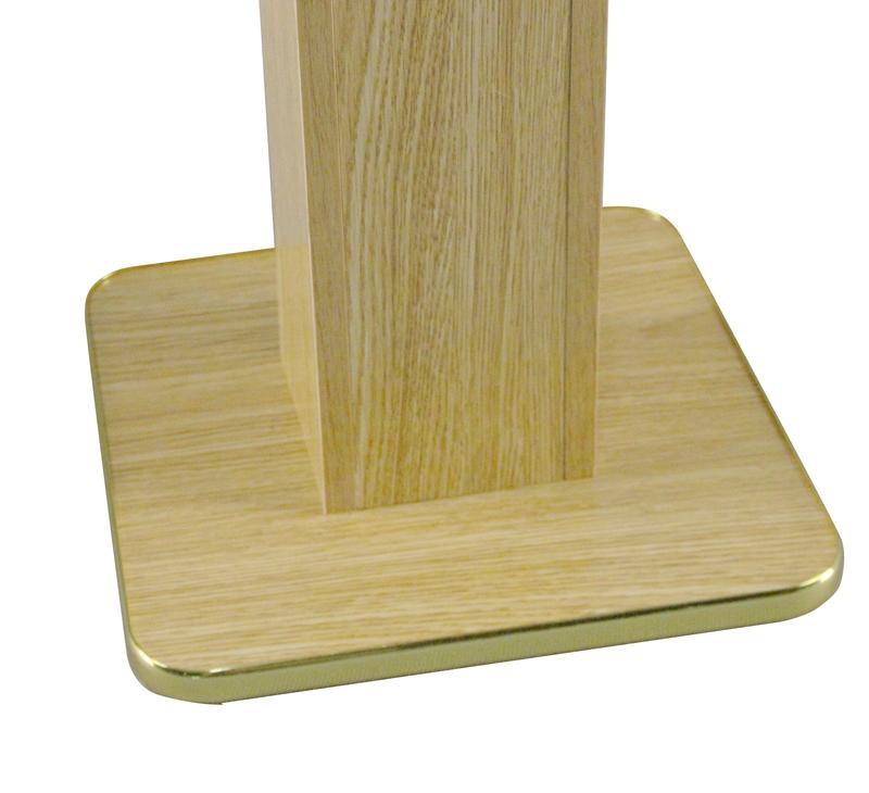 Wood Acrylic Floor Standing Tithing Box fering Box
