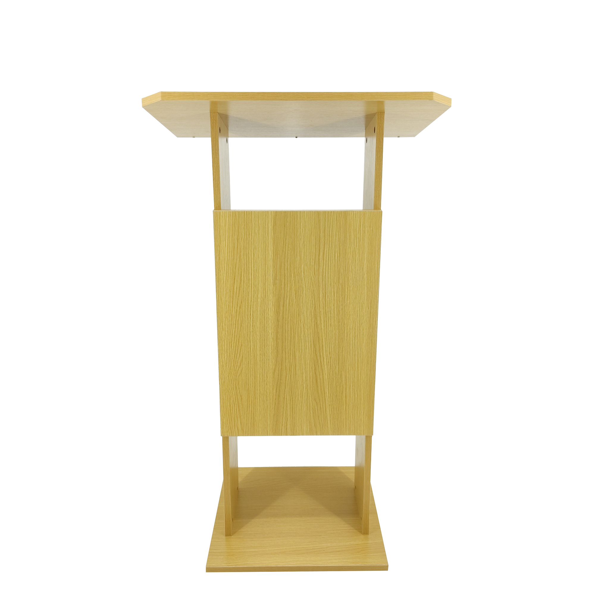 2 Of 6 Wood Mdf Podium Church Pulpit Conference Lectern Reception Desk