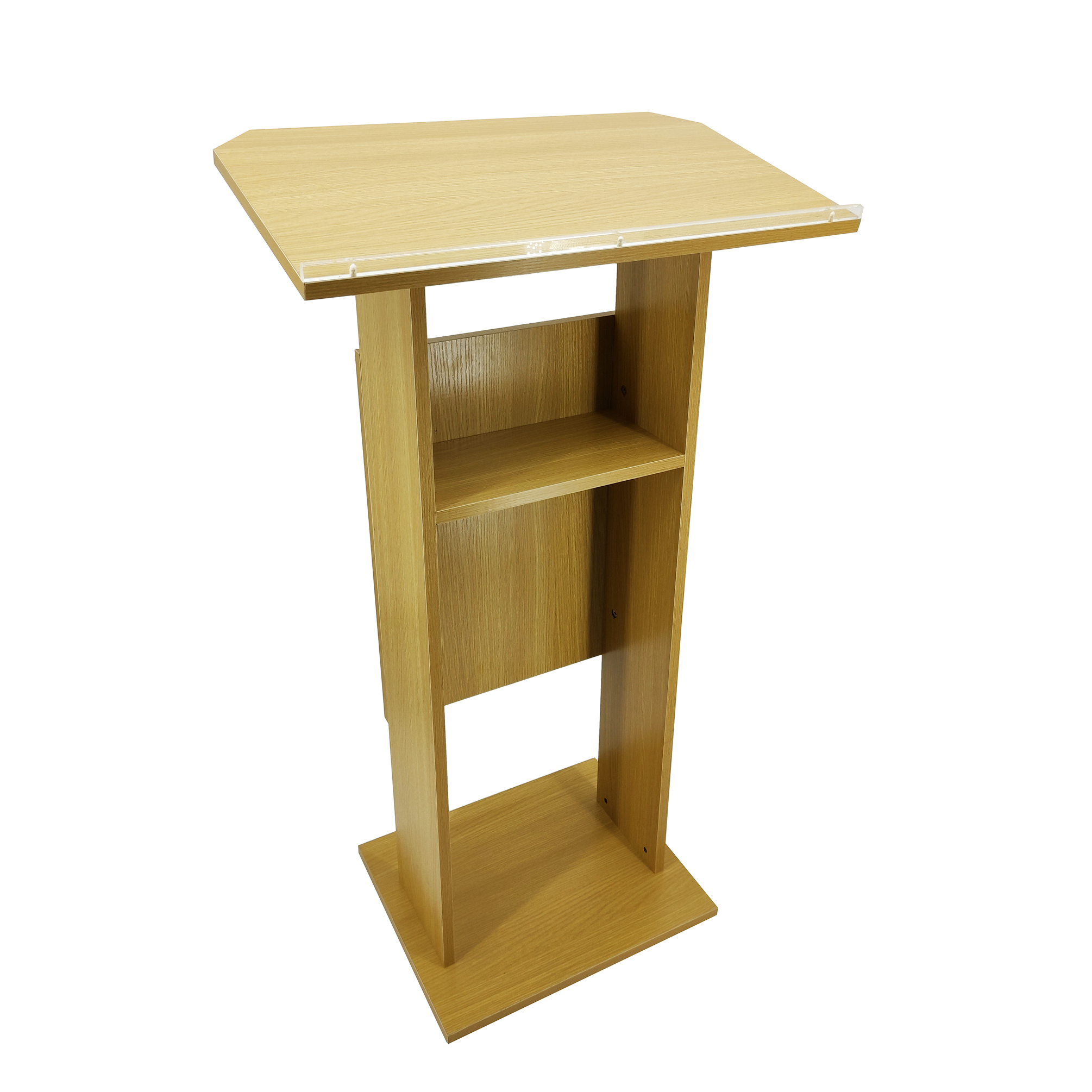 5 Of 6 Wood Mdf Podium Church Pulpit Conference Lectern Reception Desk
