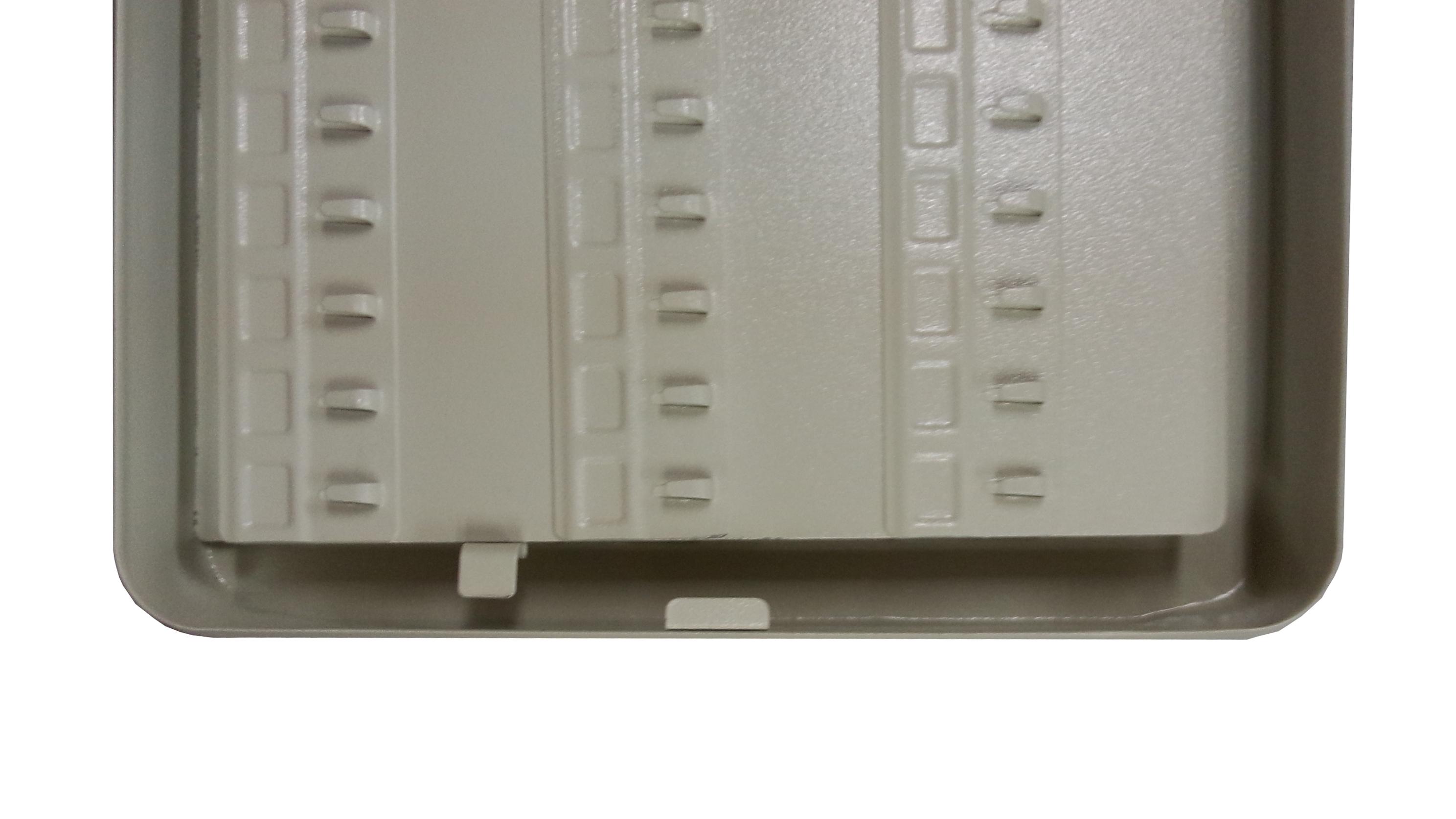 Secure Steel Key Storage Cabinet 93 Keys Gray