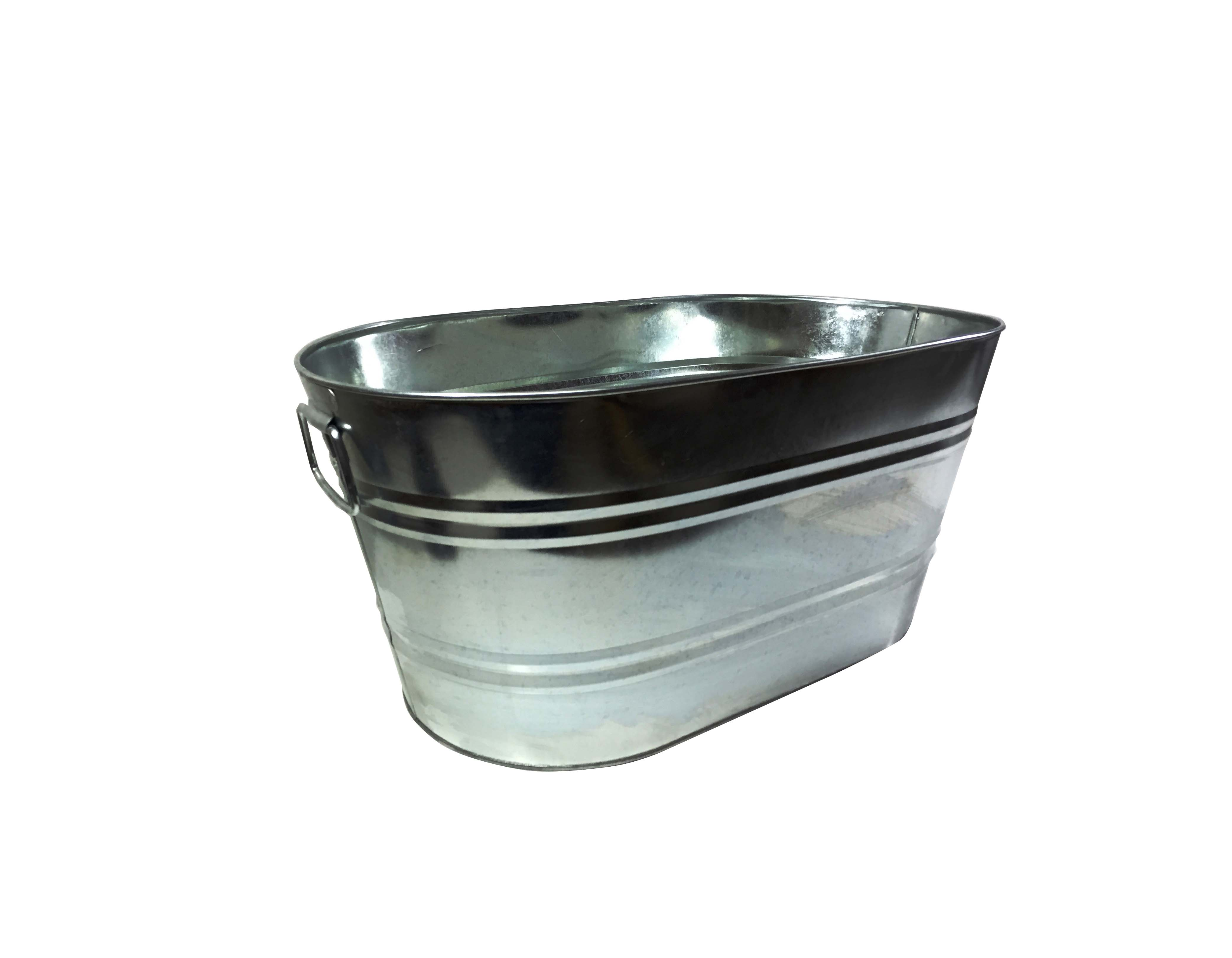 tubs small metal post galvanized flower ideas for beginners planters pails garden containers as unique amp of tub buckets