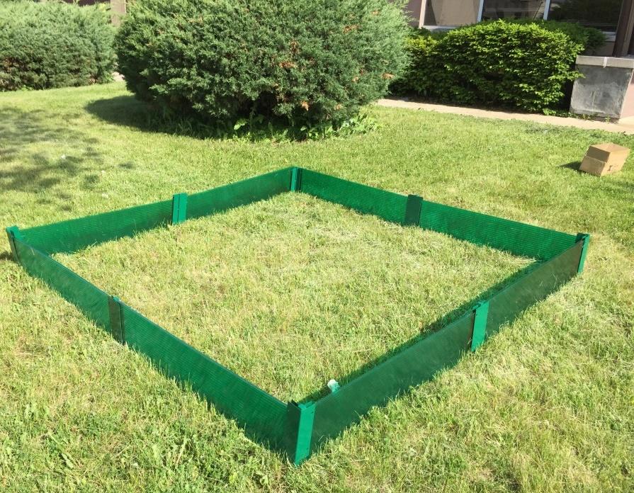 Image Is Loading Raised Garden Border Garden Fence Garden Bed Frame
