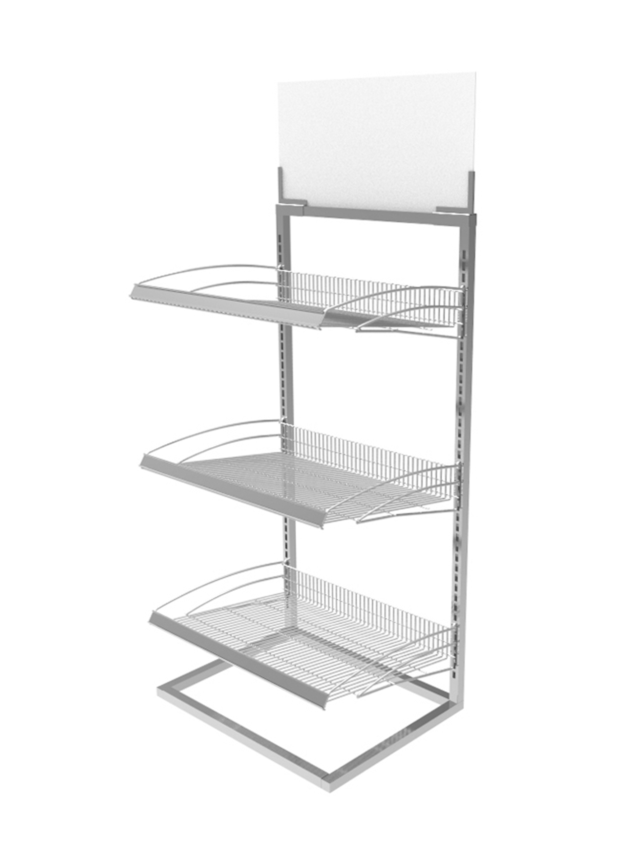 Exhibition Stand Organizer : Beverage rack metal bakery confectionary display