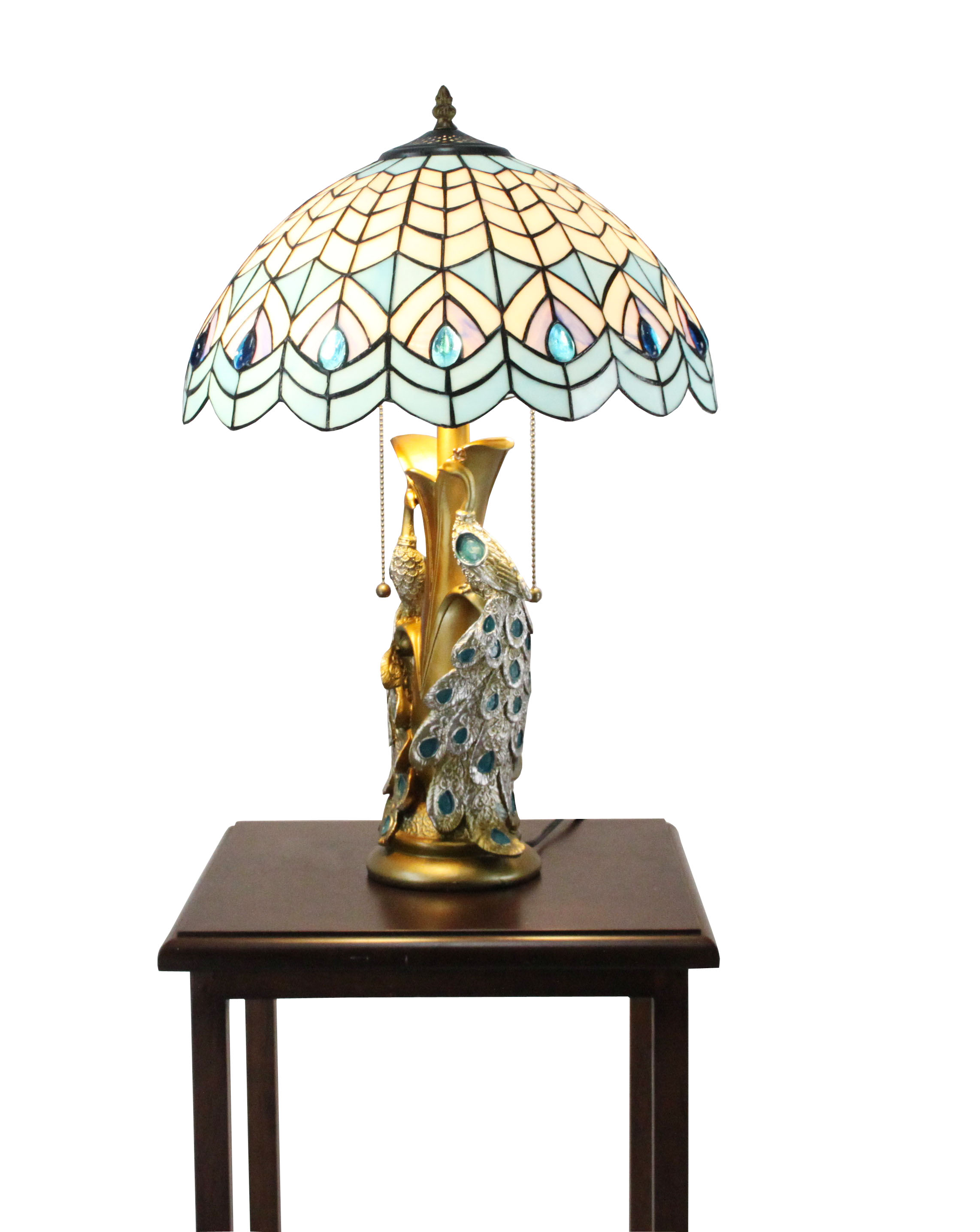 tiffany night stand lamp tiffany tabletop light fixture. Black Bedroom Furniture Sets. Home Design Ideas