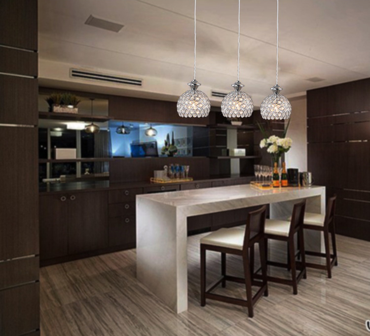 Hanging Light Fixture Wet Bar Kitchen Island Dining Room