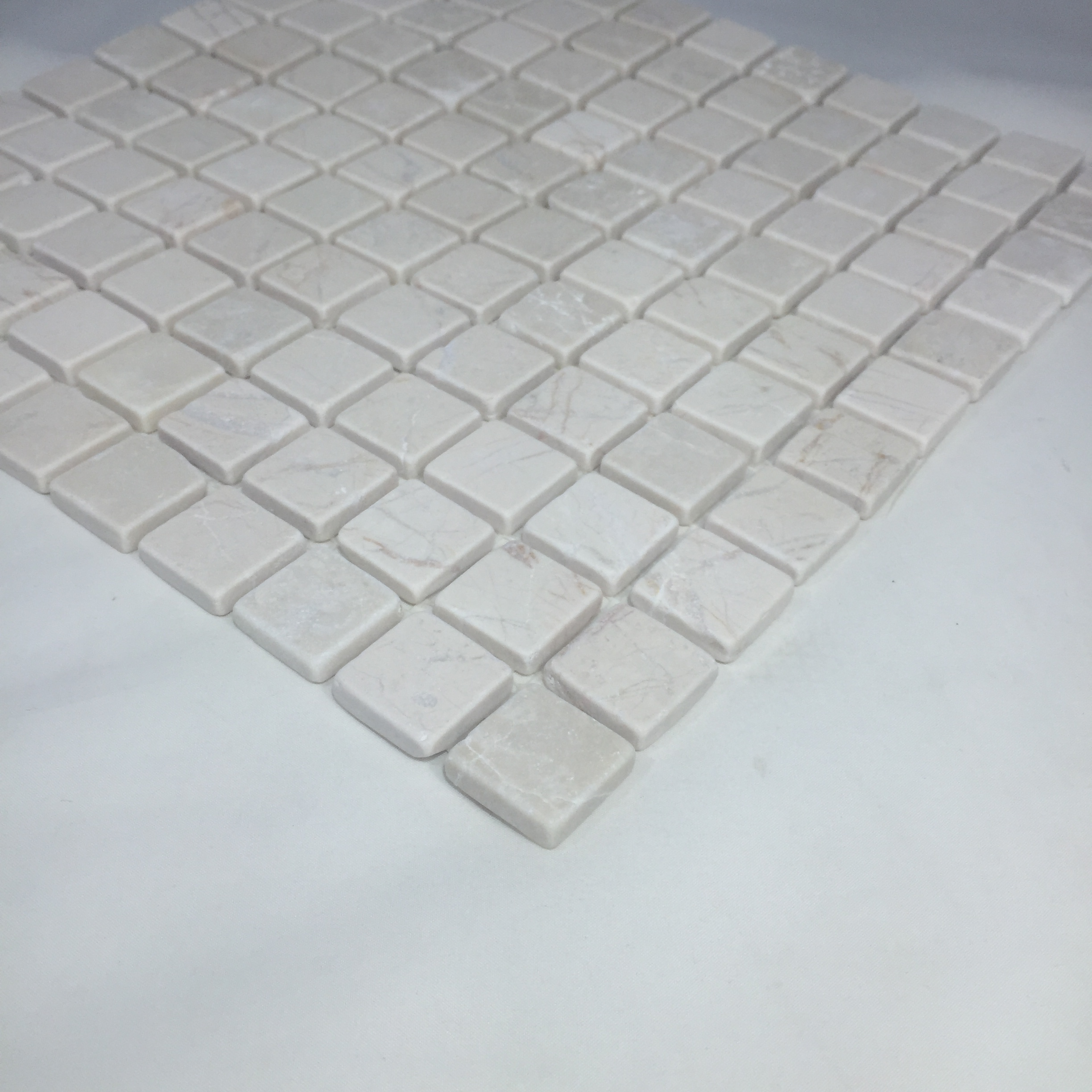 Image Is Loading Marble Mosaic Tile Polished Genuin Stone Flooring