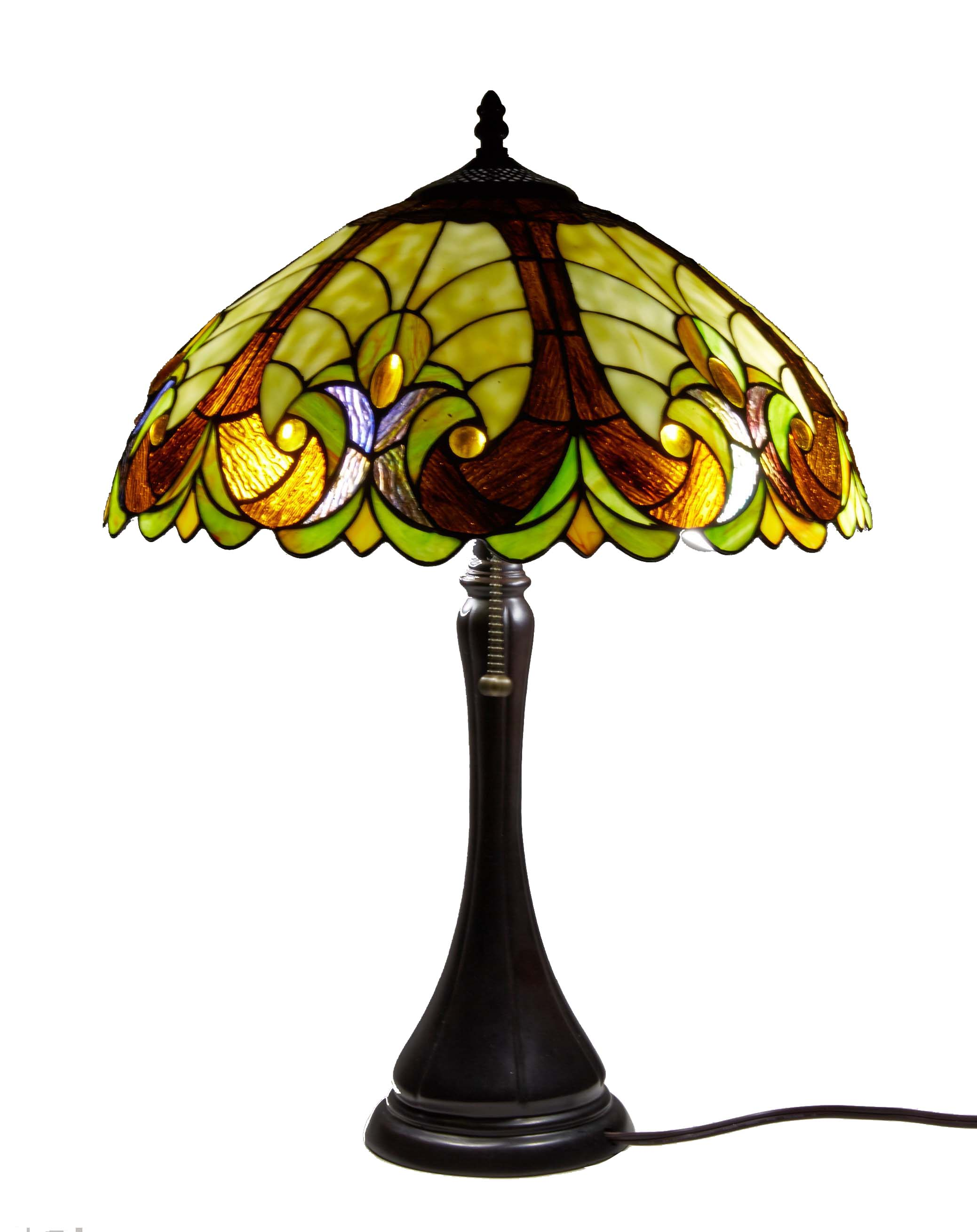 Details About Tiffany Table Lamp Stained Glass Nightstand Light Tiffany Shade Library Light