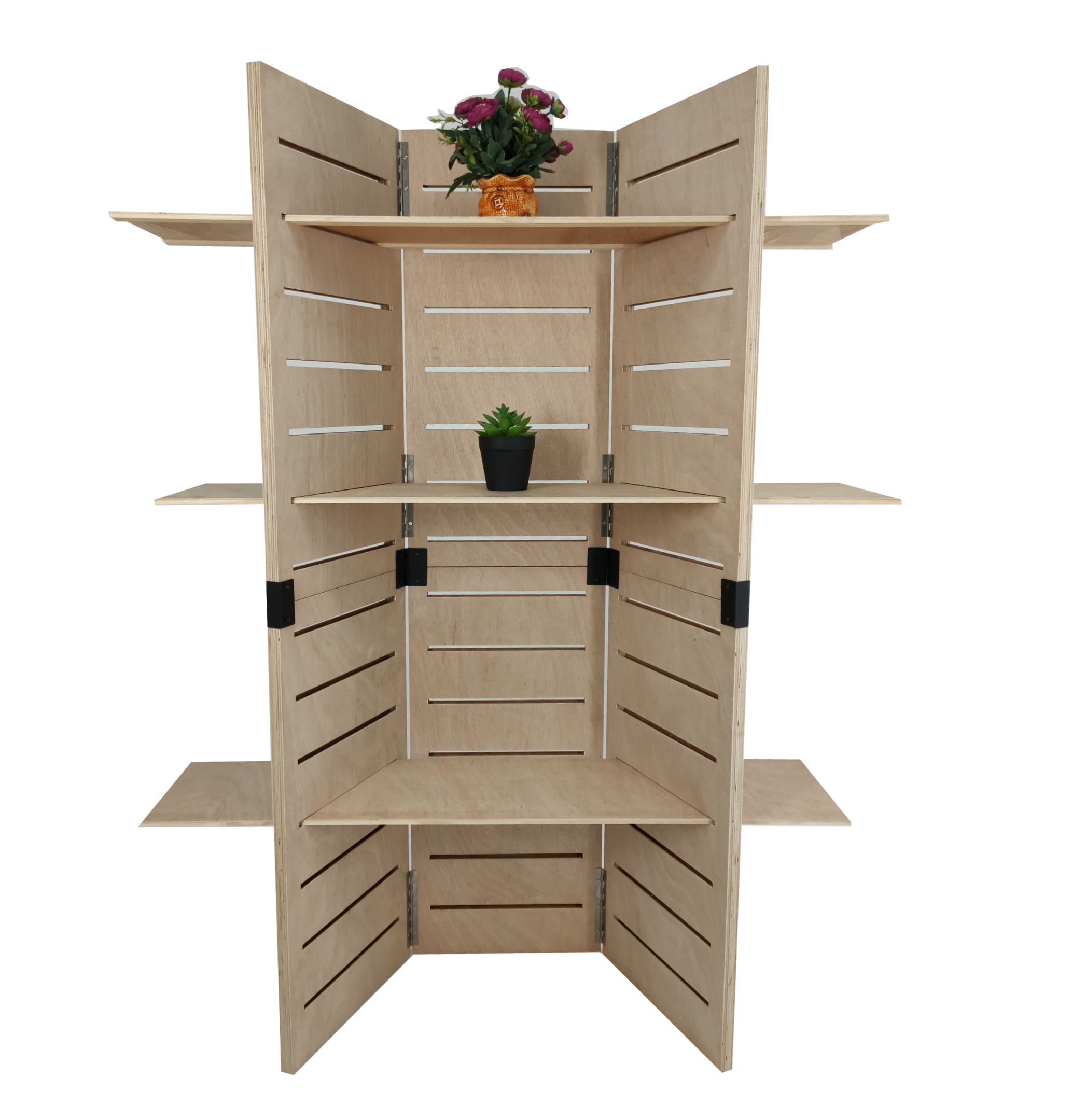 com kitchen wide home dining casual bookshelf amazon dp bookcase walnut shelf collapsible folding