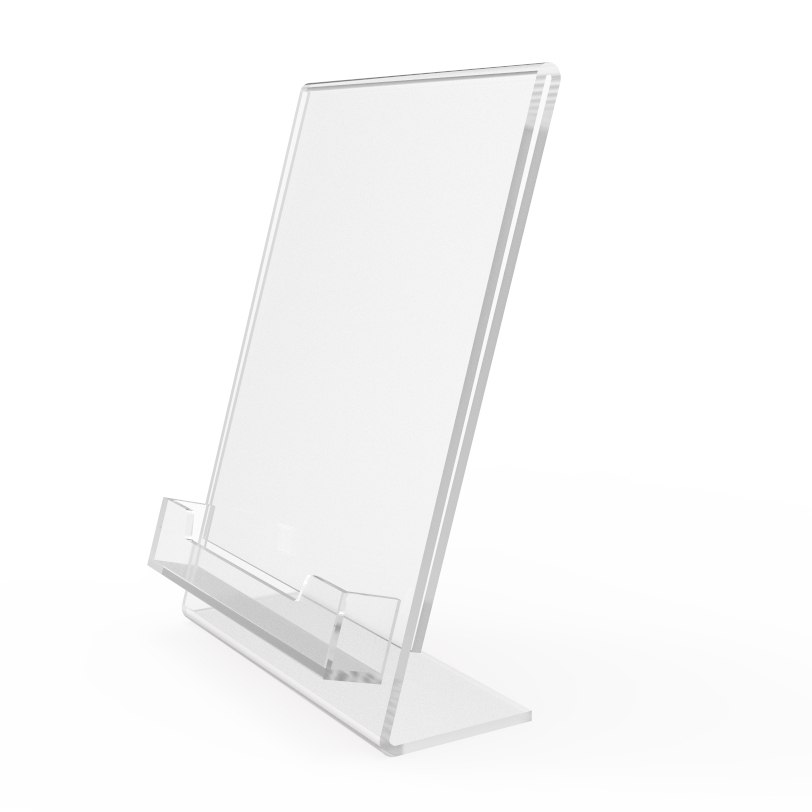 Plexiglass business card holders for Lucite business card holder